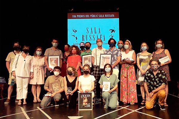 La gala de la décima edición dels Premis del Públic 2021 de la Sala Russafa