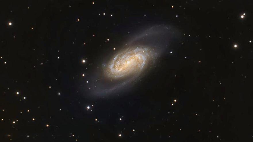 La Galaxia NGC 2903 capturada desde Ibiza