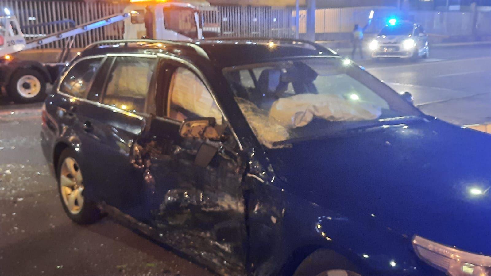 Herido un motorista en un accidente en Beiramar