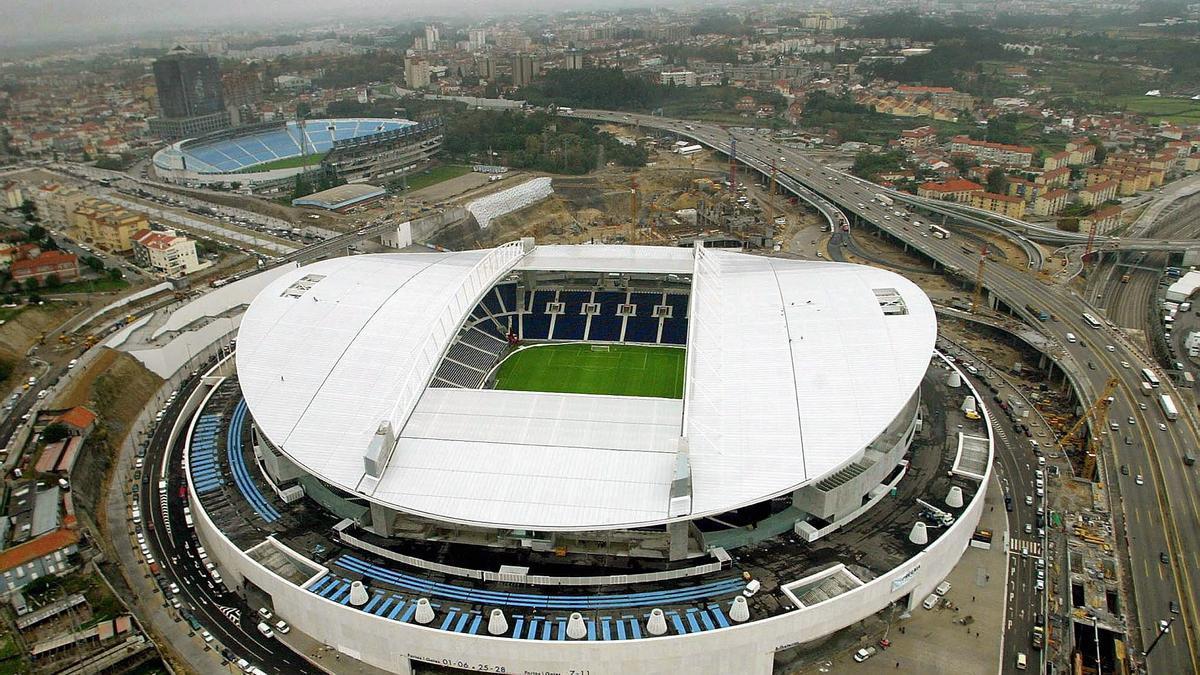 Estadio Do Dragao de Oporto.