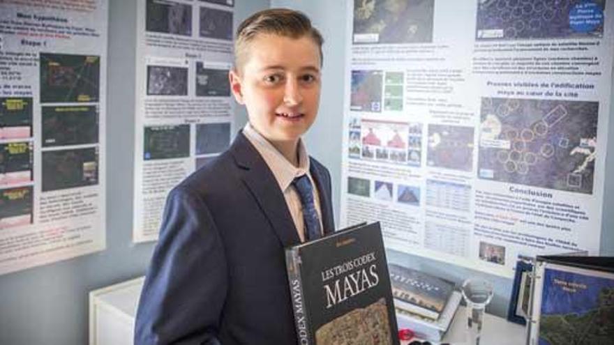 Un adolescente de 15 años descubre una nueva ciudad maya