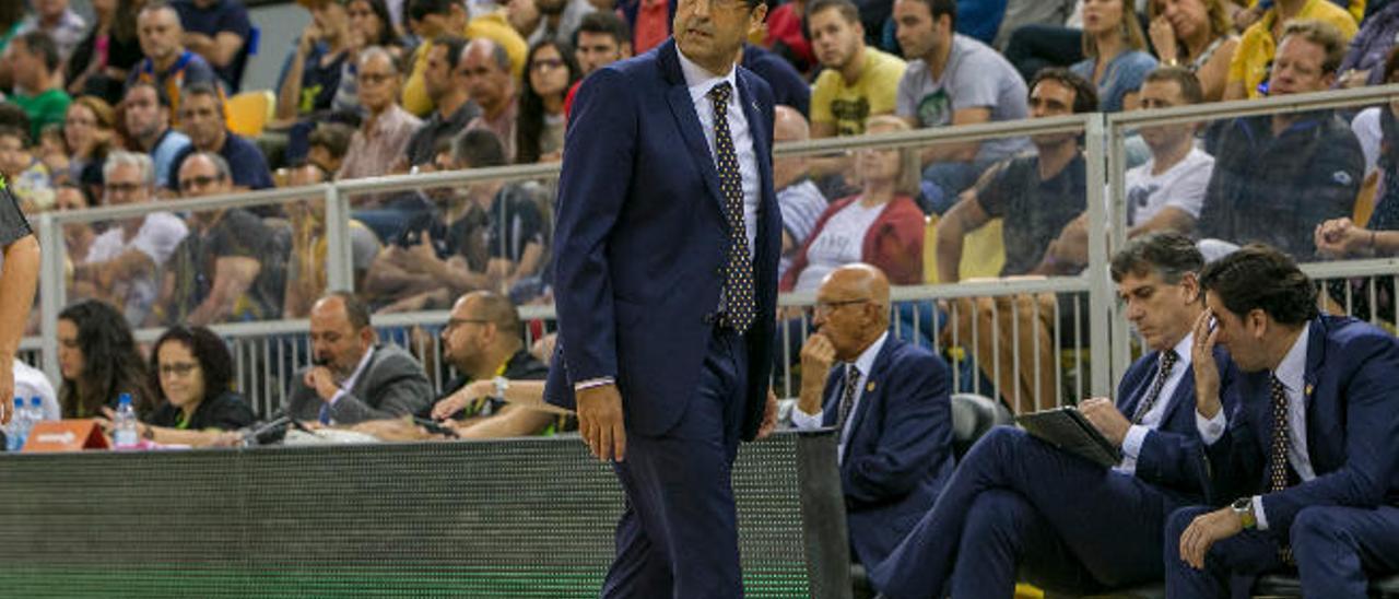 Luis Casimiro, durante el partido del domingo contra el Real Betis.