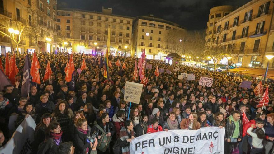 Mallorca trommelt für den Frauen-Streik am 8. März