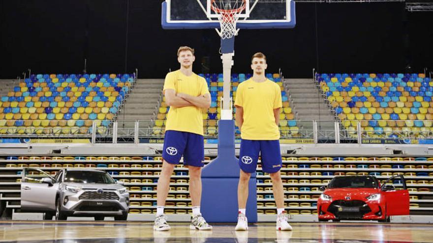 Pustovyi y Brussino llegan para «dar un paso adelante»