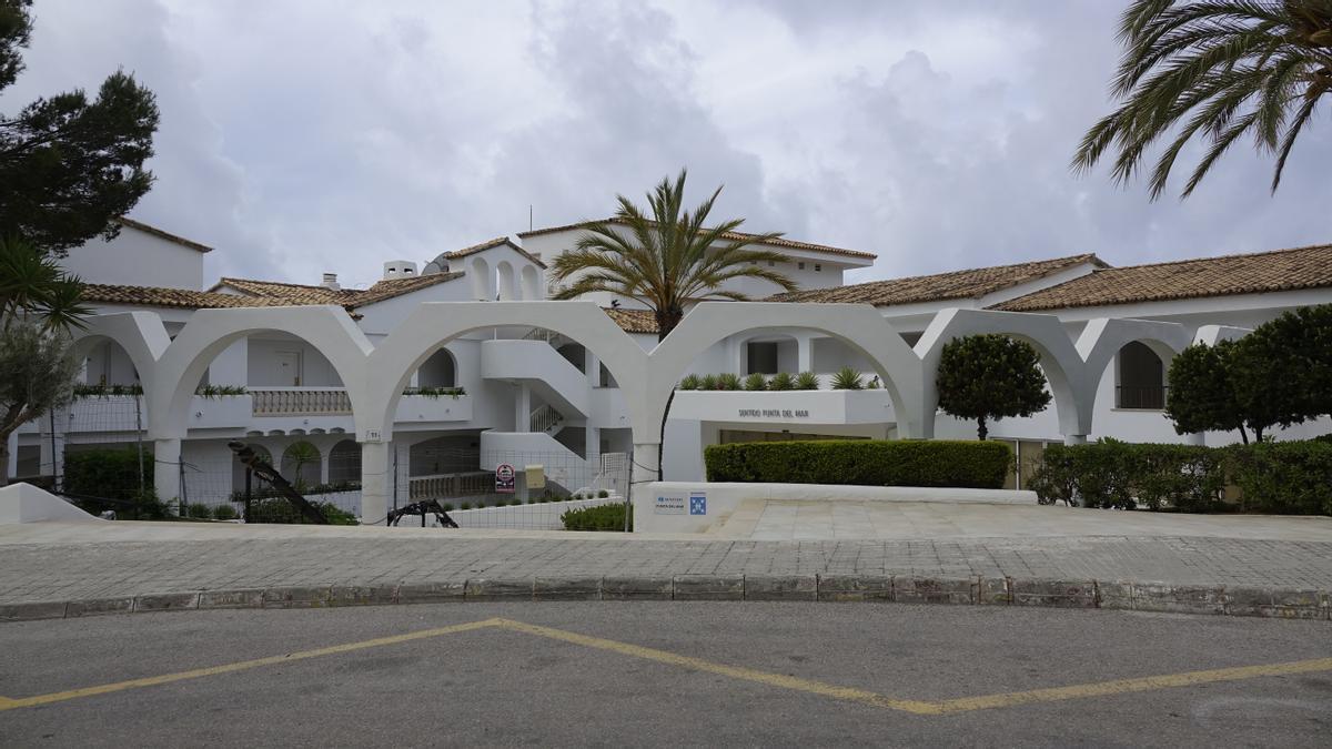 El hotel donde se ha precipitado.