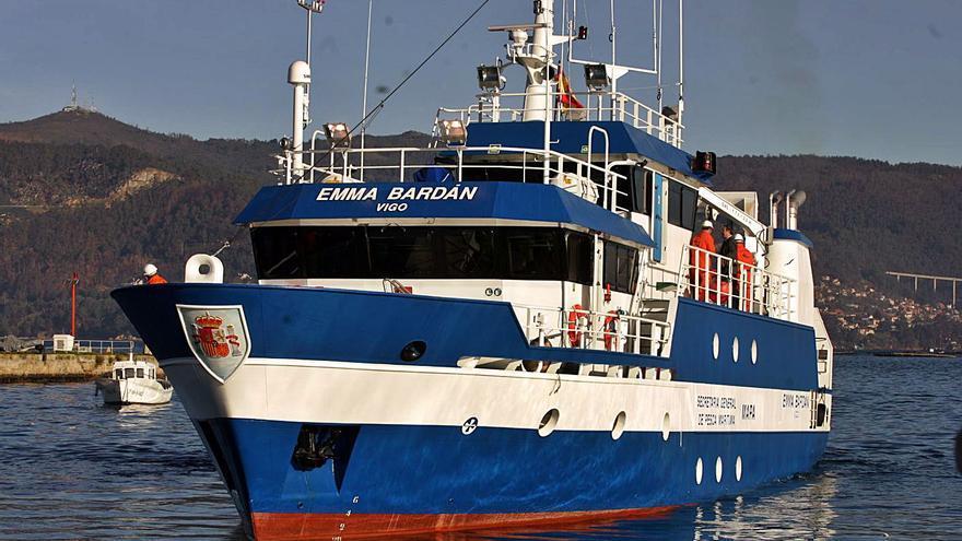"""El buque """"Emma Bardán"""" inicia una campaña de cartografía marina """"para una gestión pesquera sostenible"""""""