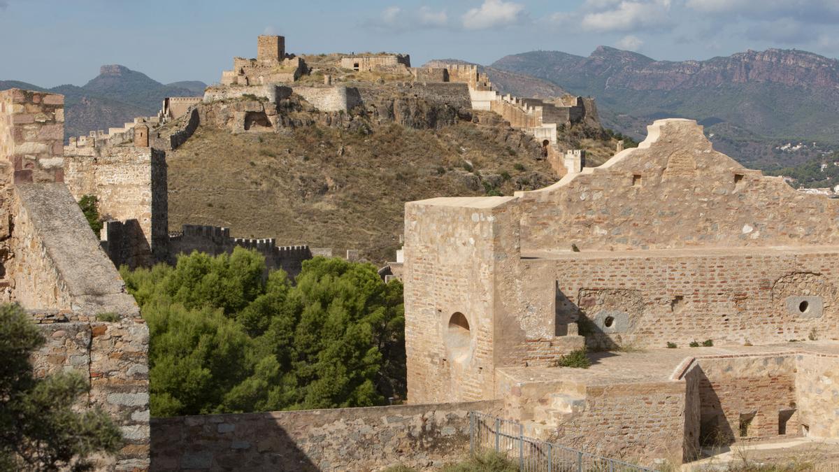 Vista del Castillo de Sagunt