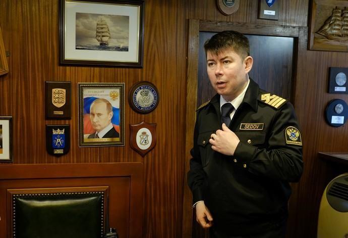Buque escuela ruso Sedov
