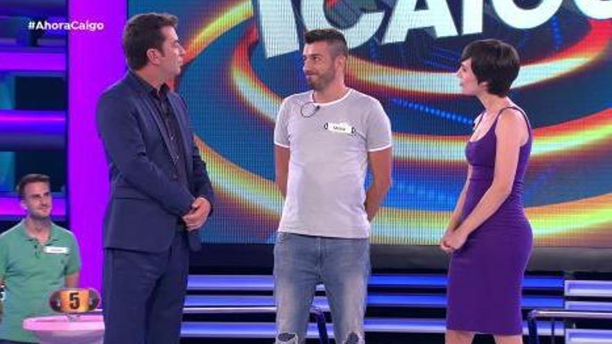'Ahora Caigo' se ve envuelto en polémica al eliminar a un concursante por una tilde