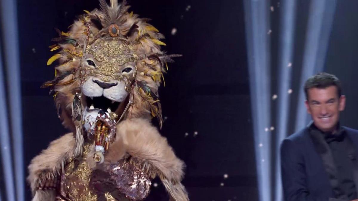 León, una de las máscaras de 'Mask Singer'.