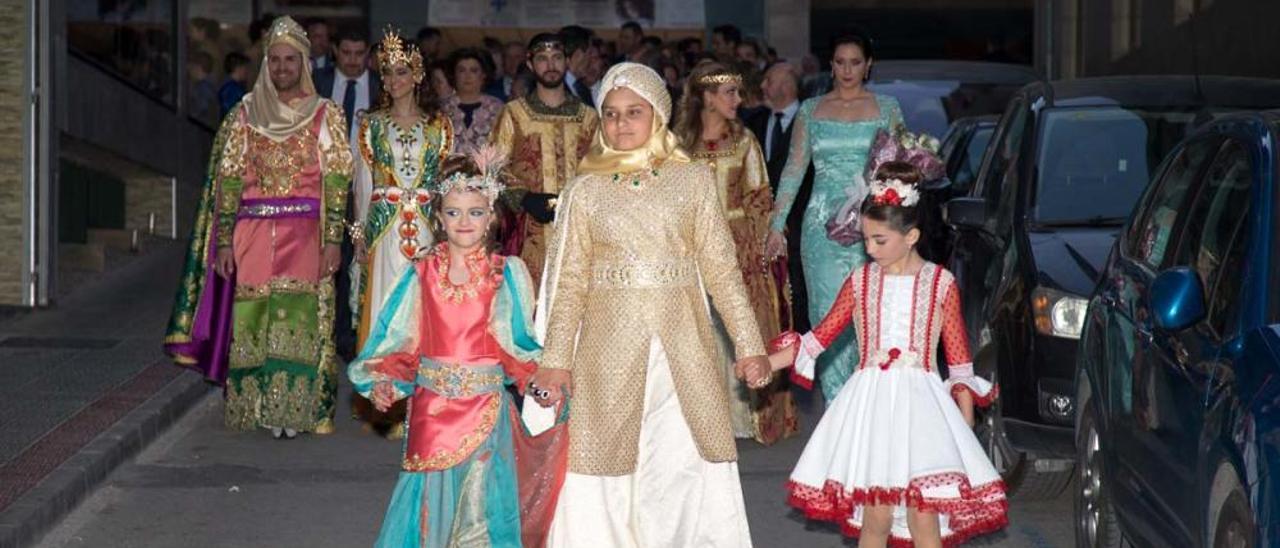 Presentación Sultanes, Reyes y Amazonas en Caravaca