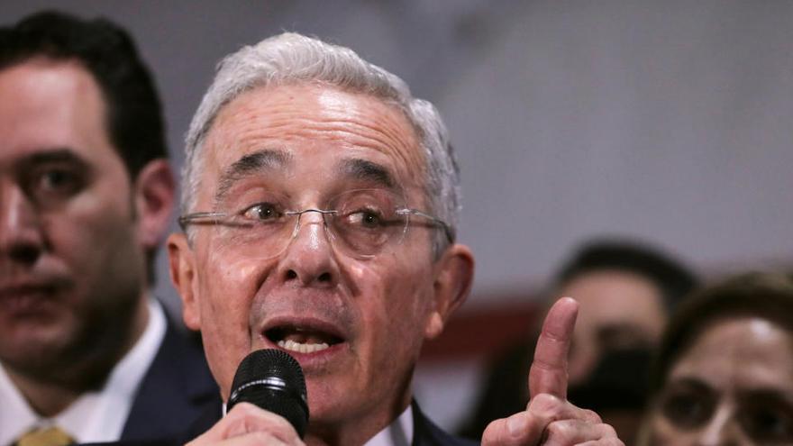 El expresidente Álvaro Uribe da positivo por Covid-19