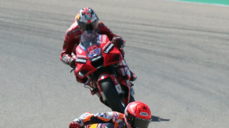 Francesco Bagnaia, ganador de MotoGP 2021 en el circuito de Motorland