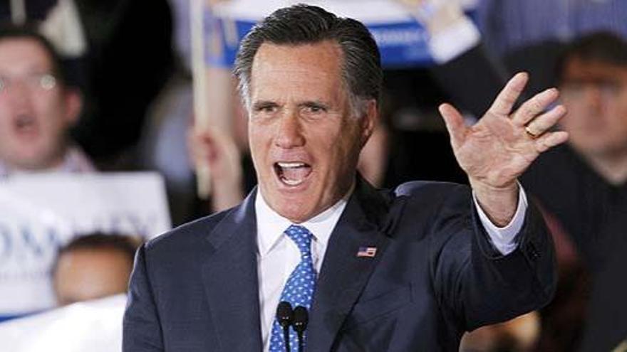 Romney se impone en el 'supermartes' republicano