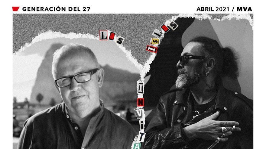 Ciclo Las Islas Invitadas. Coloquio y lectura poética a cargo de Juan José Téllez y Tito Muñoz