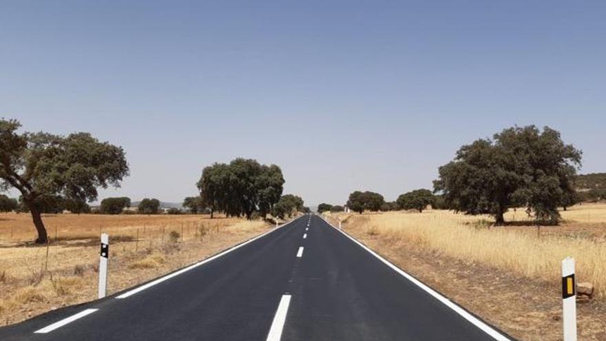La Junta invierte 88.500 euros en dos carreteras de La Granjuela