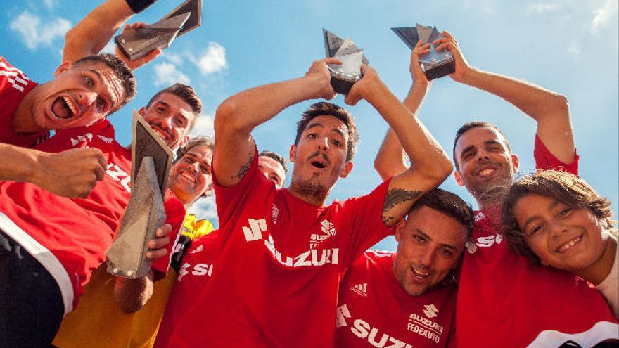 El Steaua de Tirajana, campeón en La Puntilla