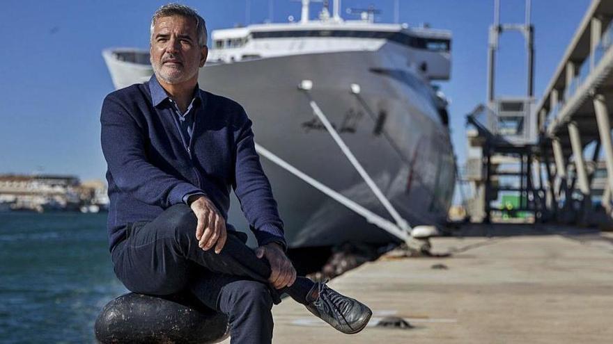 Adolfo Utor, presidente de Baleària: «Yo creo que la pandemia, si no te mata, te hace más fuerte»