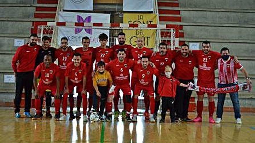 El Girona EFS celebra el seu primer ascens     a la Divisió d'Honor Catalana