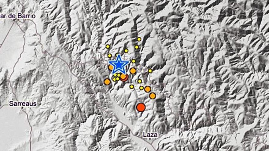 """Los sismólogos restan importancia a los terremotos de Laza, aunque creen que """"podrían continuar"""""""
