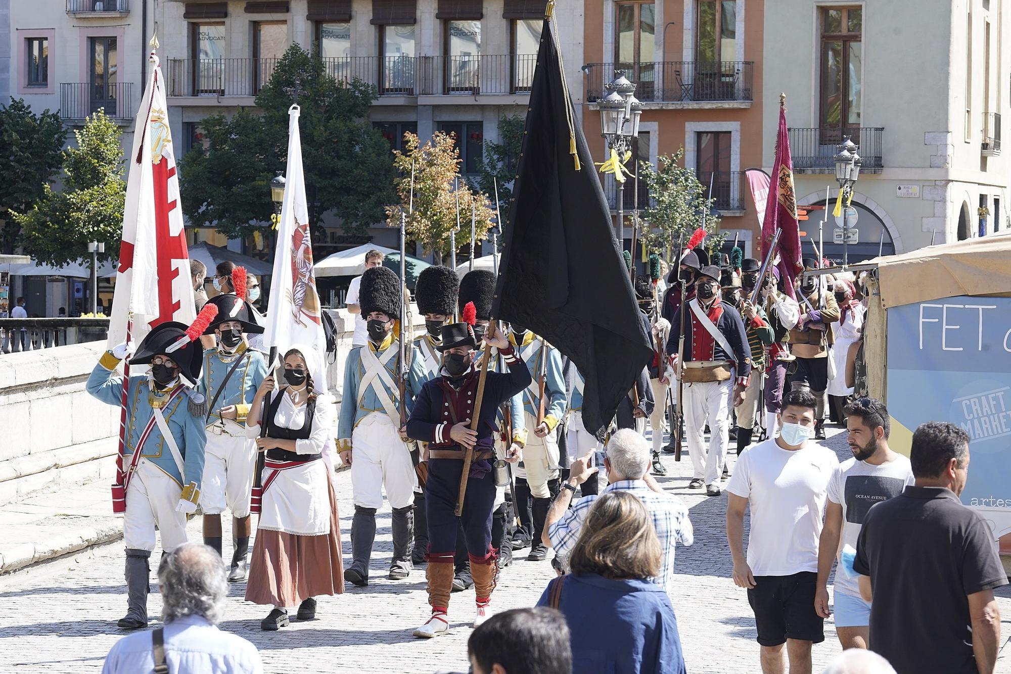 La Festa dels Setges tanca la 13a edició amb l'entrada de subministraments