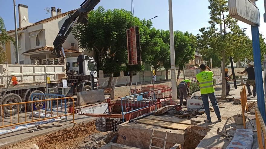 La Emshi instala en Paiporta una válvula de control de caudal