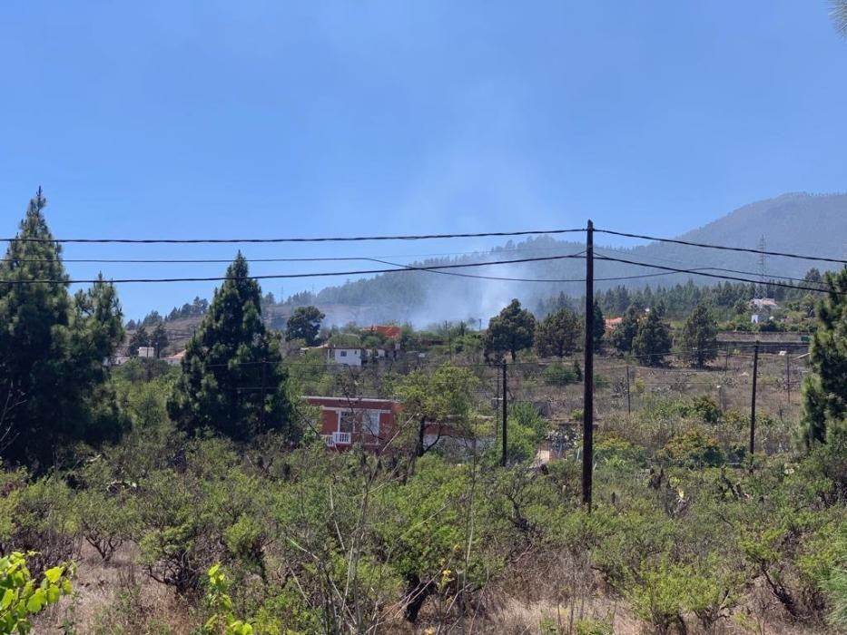 Conato de incendio en La Palma