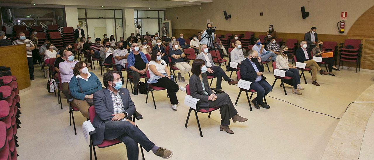 Reunión de municipios en la  Mancomunitat de la Safor,  este mes.  Álex Ruiz