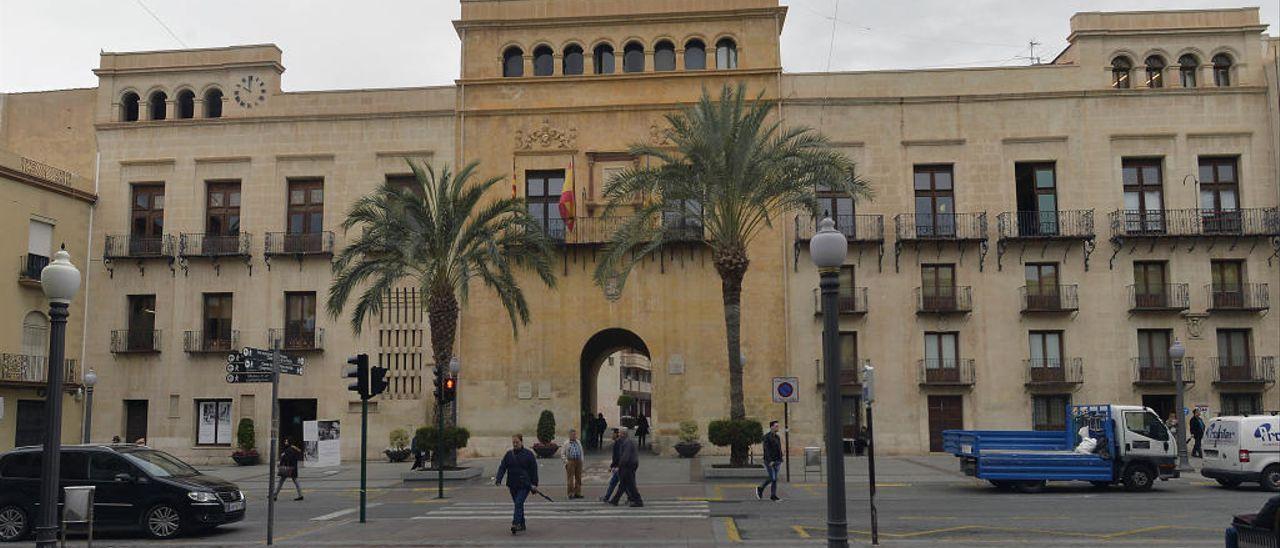 Imagen de archivo del ayuntamiento de Elche.