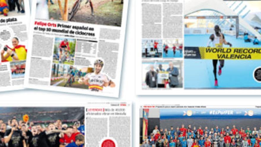 Este jueves, gratis, la Crónica del Deporte Valenciano 2019