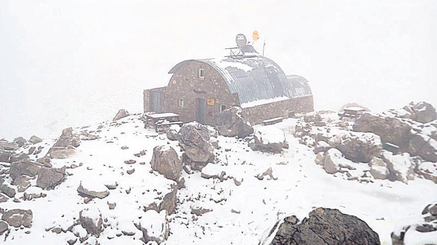 Los Picos de Europa, récord de la historia de mínima en España con 35,8 grados bajo cero