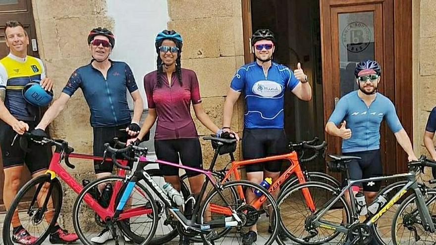 El turismo ciclista llega al centro histórico de Xàbia