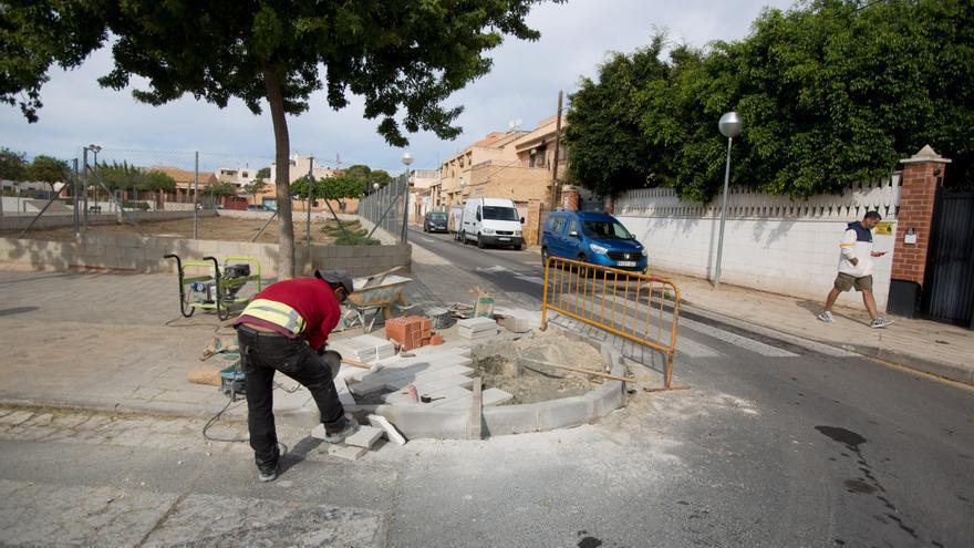 Urbanismo abre al tráfico el barrio de Rabasa de Alicante tras finalizar las obras de remodelación
