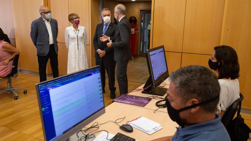 Más de 11.000 empresas canarias presentan su solicitud a la convocatoria de ayudas de 1.144 millones de euros