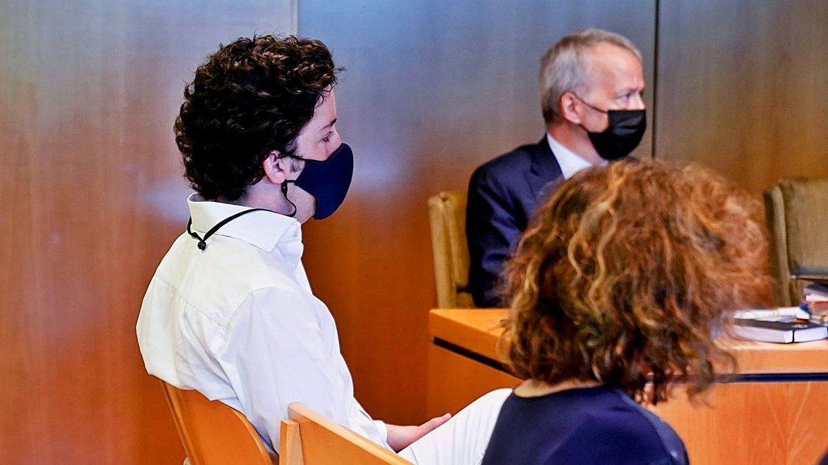 El Petit Nicolás, al jutjat en una fotografia d'arxiu.   EUROPA PRESS