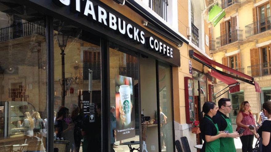 Starbucks contratará a 15 trabajadores para su nuevo local en Marratxí