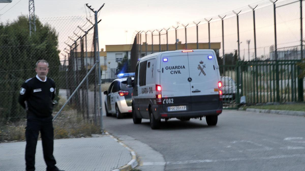 Entrada a la prisión de Picassent.