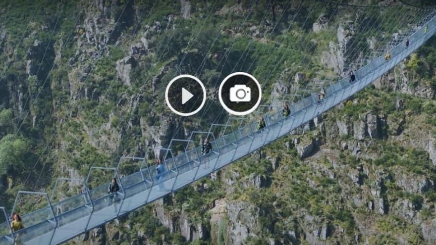 Portugal estrena el mayor puente colgante del mundo a 3 horas de Vigo