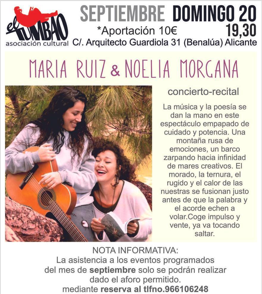 María Ruiz & Noelia Morgana