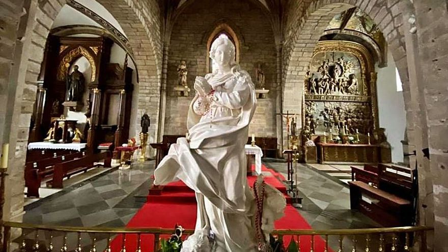Visita de la Virgen Peregrina a Avilés