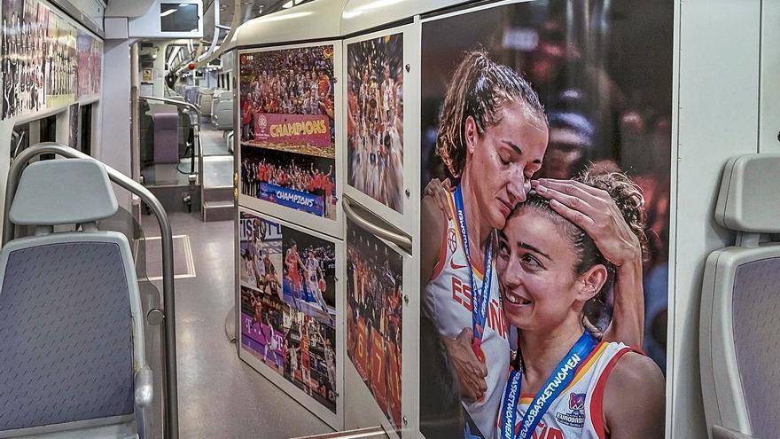 «Próxima estación: Baloncesto», en los trenes de Gandia