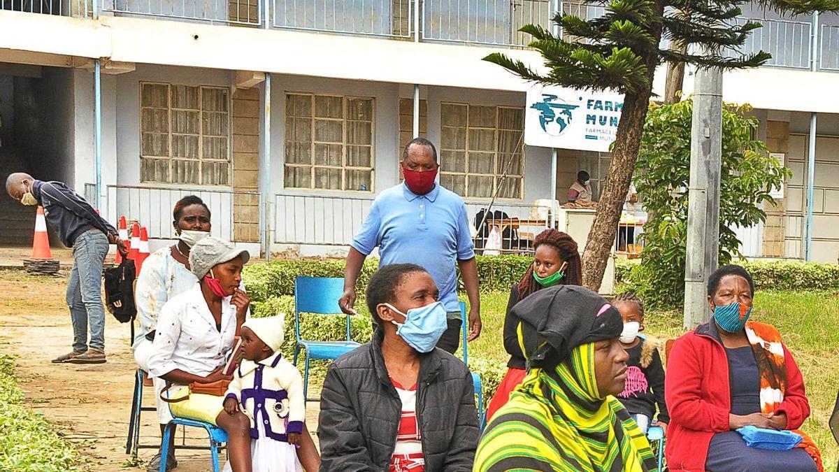 La cooperació valenciana ha ampliat l'assistència sanitària a Nairobi.   LEVANTE-EMV