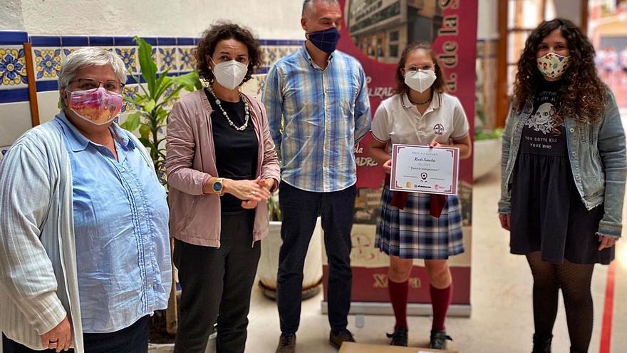 Premio educativo para la setabense Rocío Sanchis