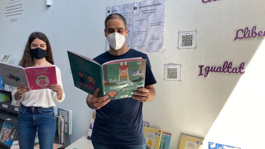 Les escoles i les biblioteques de l'Alt Empordà promouen els valors coeducatius