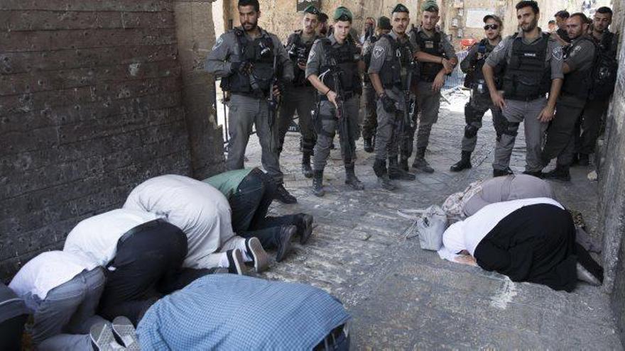 Abbàs diu que no hi haurà relacions amb Israel fins que no s'acabin les mesures a Al-Aqsà