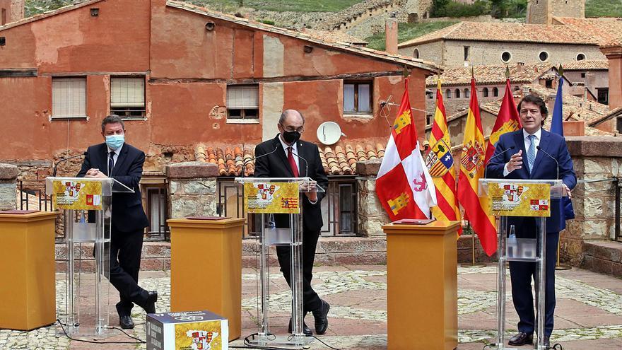 Mañueco exige al Gobierno que dedique los fondos de la UE a equilibrar territorios