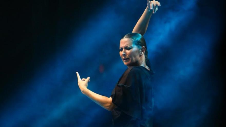 Sara Baras recibe el Premio de Teatro, Música y Danza
