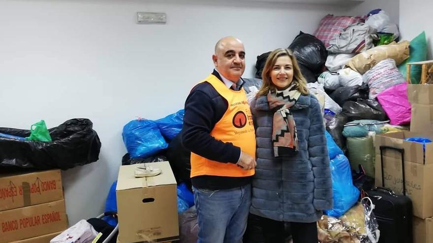 Buscan cinco voluntarios para el ropero de Cáritas de Lorca