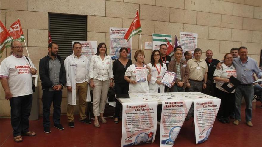 CCOO recoge firmas para recuperar el hospital de Los Morales