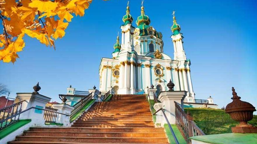 Descubre Kiev, la ciudad de las catedrales